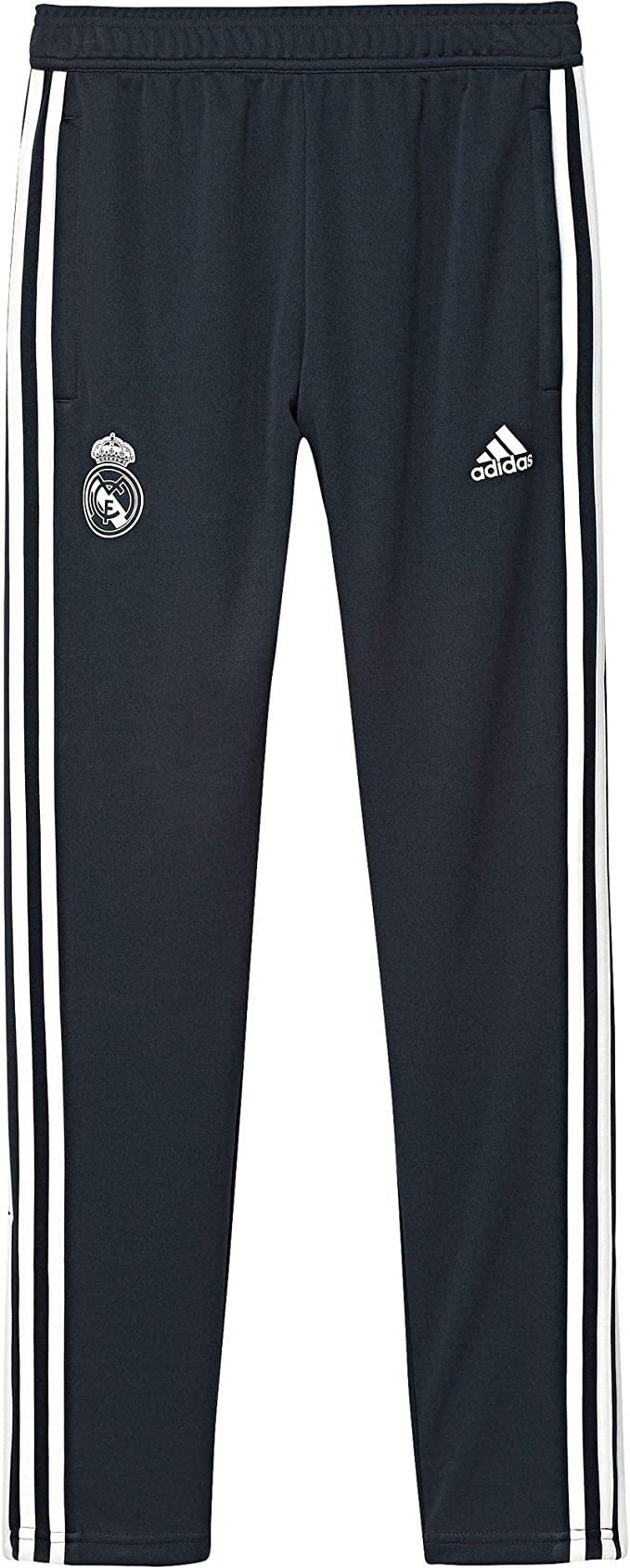 Apellido Bienvenido Intentar  Amazon.com : adidas 2018-2019 Real Madrid Training Pants (Dark Grey) - Kids  : Clothing