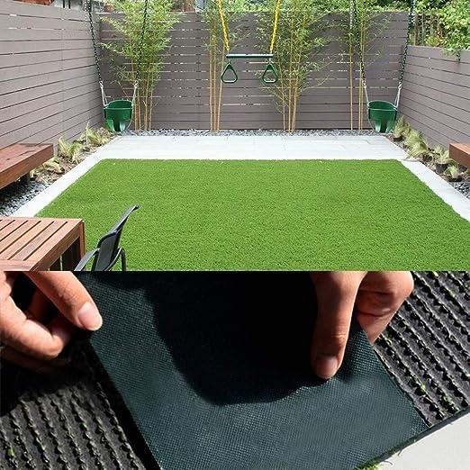 Césped del jardín 5mx15cm bricolaje Césped Artificial for juntas de auto-adhesivo de la cinta de