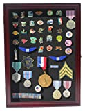 Collector Medal/Lapel Pin Display Case Holder