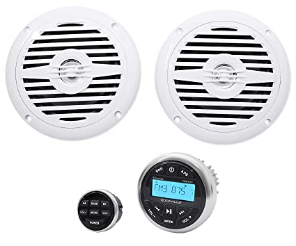 Amazon.com: Hot Tub Audio System w/Bluetooth Gauge Hole ... on hot tub wiring guide, ceiling fan installation diagram, hot tub specification, hot tub trouble shooting, hot tub timer, hot tub parts diagram, hot tub repair, hot tub thermostat, hot tub wiring 120v, hot tub wiring install, hot tub hook up diagram, electrical outlets diagram, hot tub heater, circuit diagram, hot tub wiring 220, hot tub connectors, hot tub plumbing diagram, hot tub schematic, hot tub heating diagram, hot tub pump diagram,