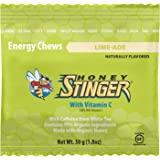 Honey Stinger Organic Energy Chews, Limeade, Naturally Caffeinated, 1.8 Ounces (Pack of 12)