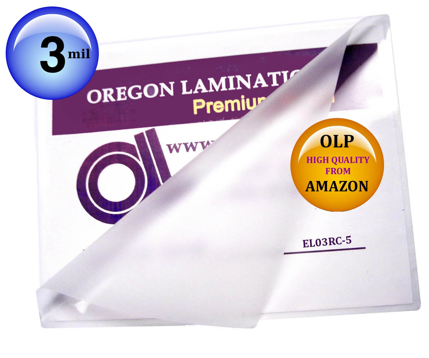 Qty 500 Large Menu Laminating Pouches 12 x 18 Hot 3 Mil Laminator Sleeves