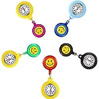 Lancardo Relojes Silicona Enfermera Reloj de Pulsera Fob