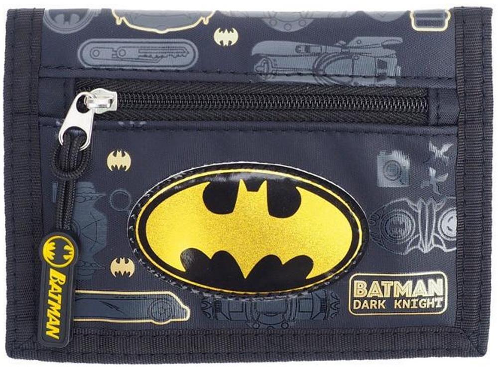 Batman Logo Bifold Wallet Coin Purse Card Holder Organizer by Superhero (Image #2)