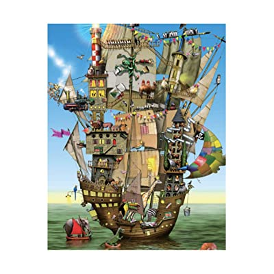 [ Puzzle Life ] Norak'H ARK Ⅰ | 1000 Piece Jigsaw Puzzle for Adults, Teens and Family: Toys & Games