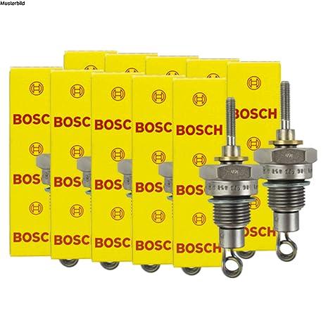 10 x Bosch Bujía de precalentamiento