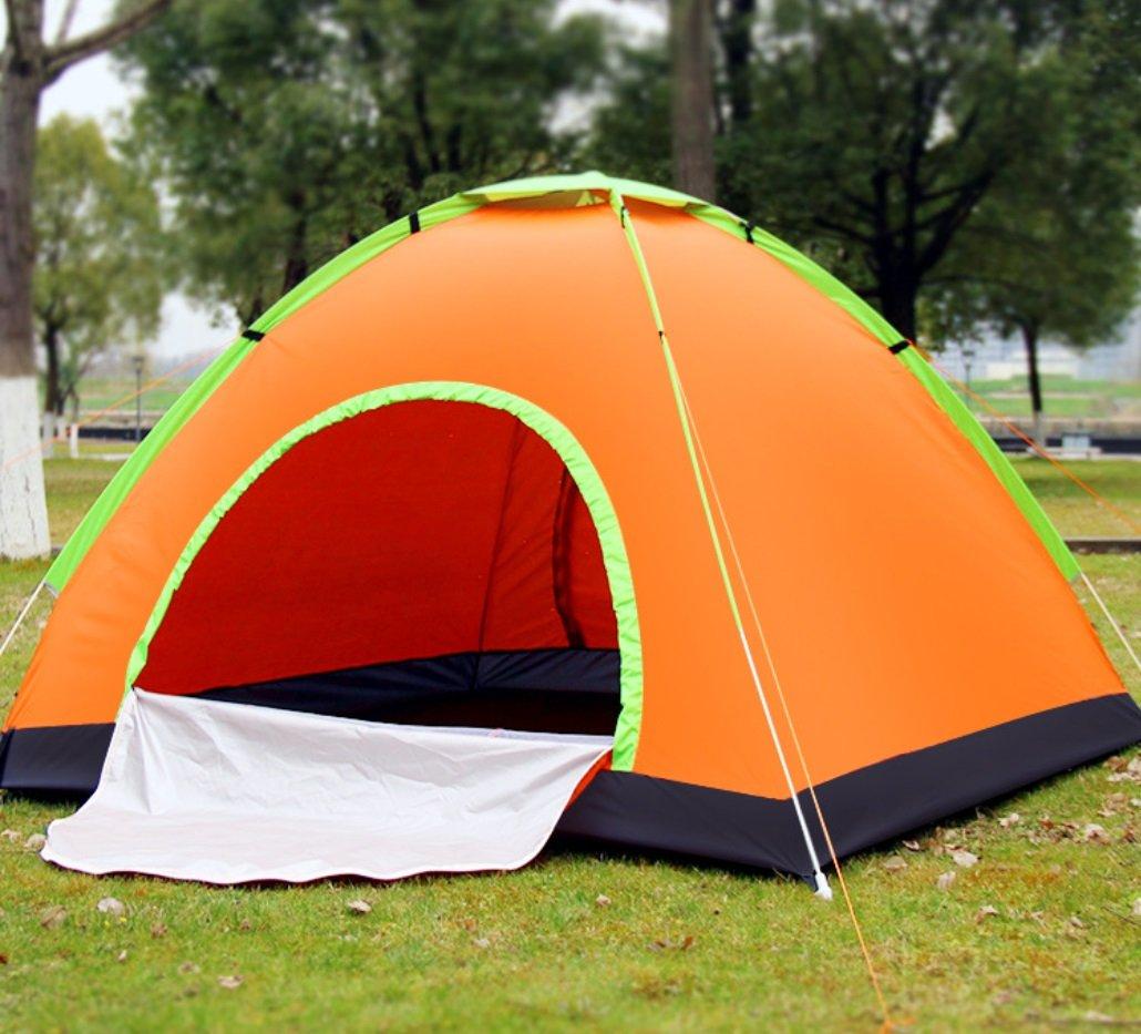 3-4 Personen Geschwindigkeit Öffnen Tourismus Camping Zelt Im Freien Automatische Zelt Schatten Single Layer Zelt ZXCV