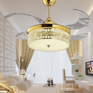 ceiling fans with lights for living room. Huston Fan 42 Inch Modern Ceiling Fans Light LED Chandelier  With Remote Indoor