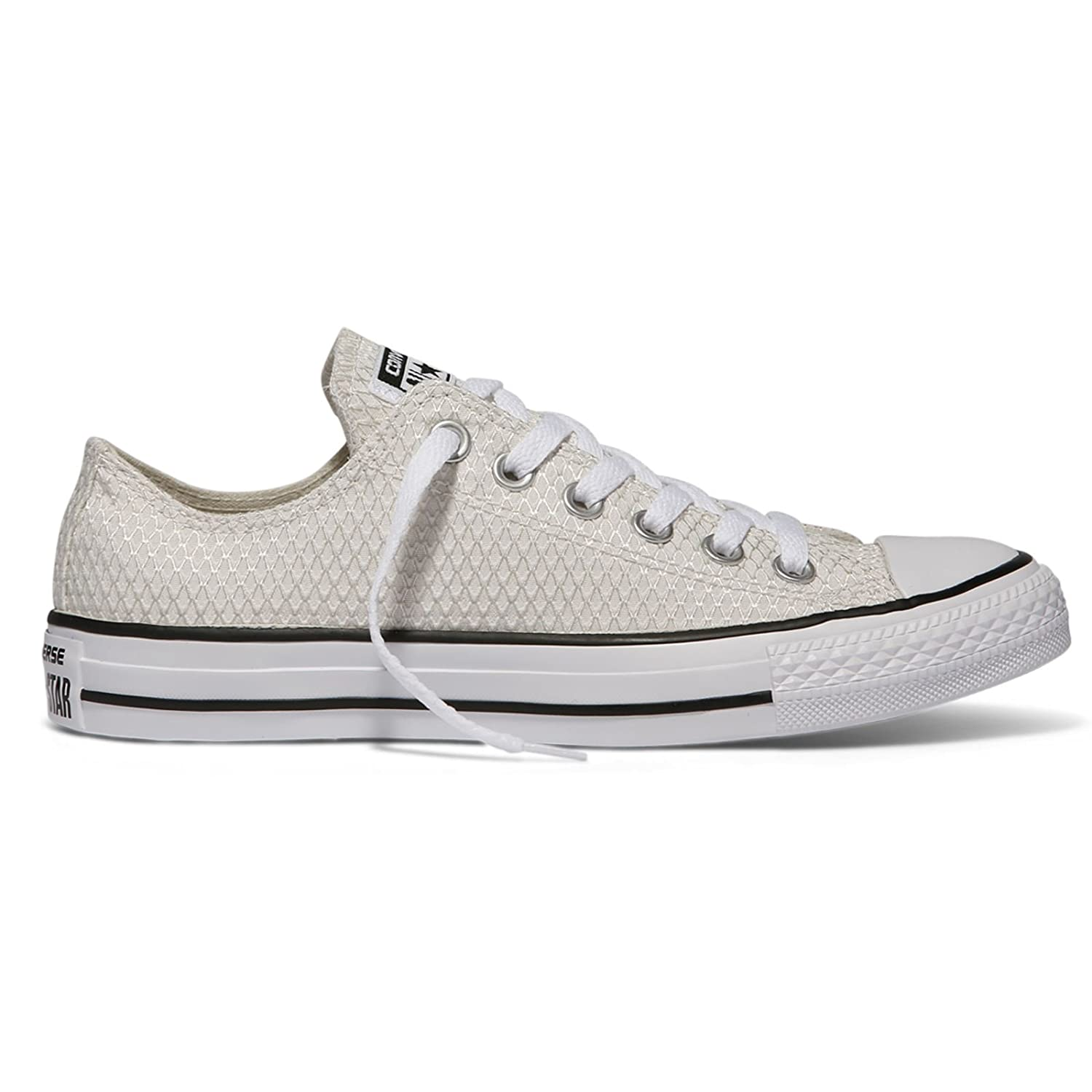 Converse Ctas Ox, Sneaker a Collo Basso Donna Black White