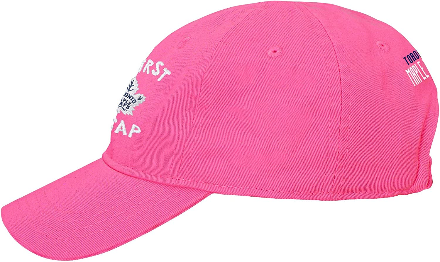 Toronto Maple Leafs NHL Hockey My First Infant Slouch Stretchable Elastic Stretch Cap Pink