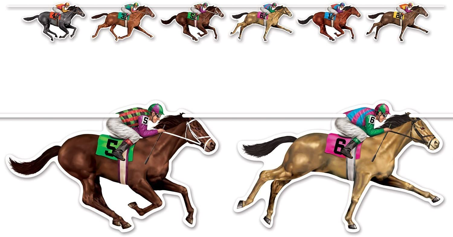 Amazon.com: Horse Racing Streamer (2-Pack): Kitchen & Dining