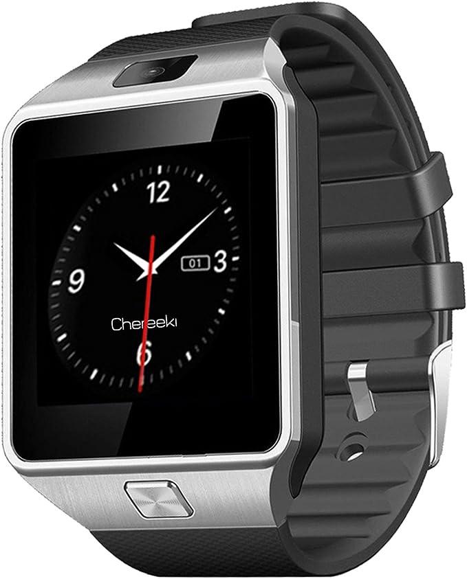 GSTEK Smartwatch Bluetooth Smart Watch Reloj Inteligente Teléfono Inteligente Pulsera SIM/TF Pantalla Cámara Táctil para Android Samsung HTC LG Huawei Sony Reloj Deportivo: Amazon.es: Electrónica