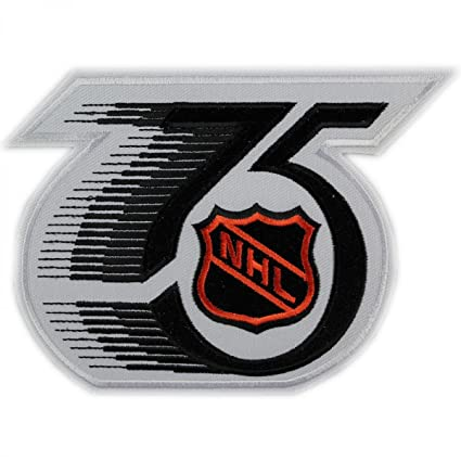 Image Unavailable. Image not available for. Color  NHL 75TH ANNIVERSARY  PATCH ba5a6a66d55