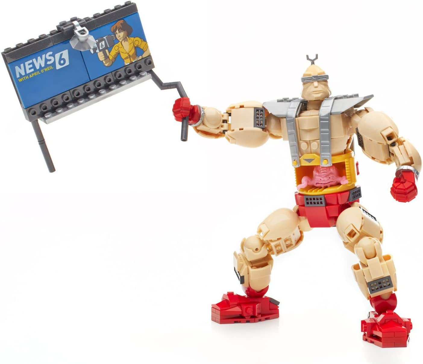 Mega Bloks Teenage Mutant Ninja Turtles Collectors Krangs Rampage