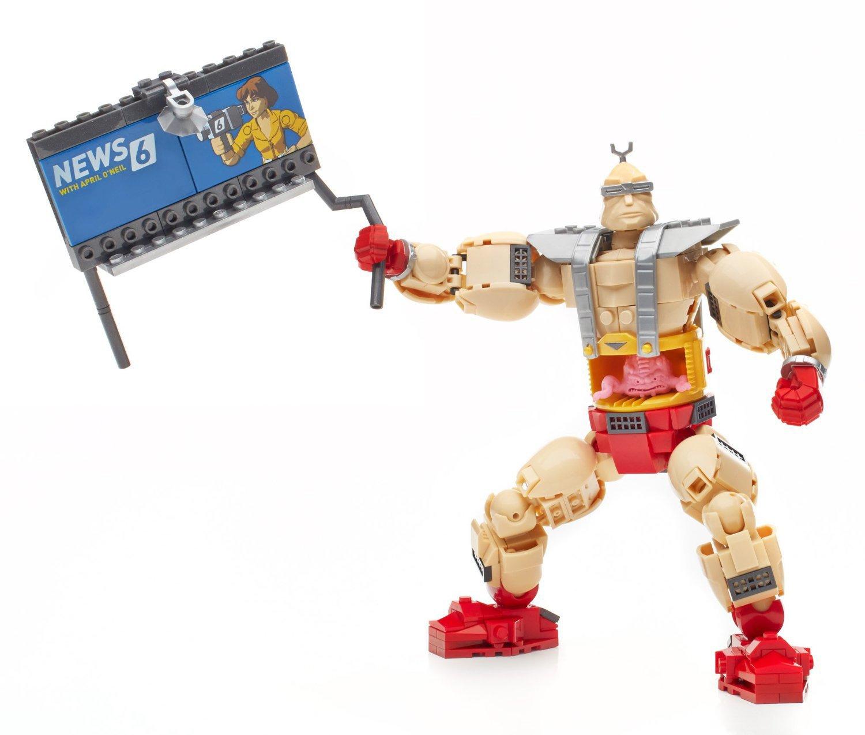 Mega Bloks Teenage Mutant Ninja Turtles Collectors Krangs Rampage Mega Bloks Teenage Mutant Ninja Turtles Collectors Krang/'s Rampage Mattel DMW32