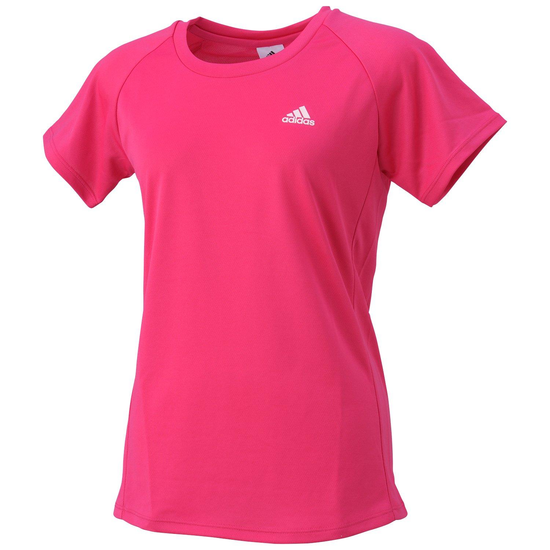 (アディダス)adidas トレーニングウェア 定番 ワンポイント半袖Tシャツ BIK99 [レディース]
