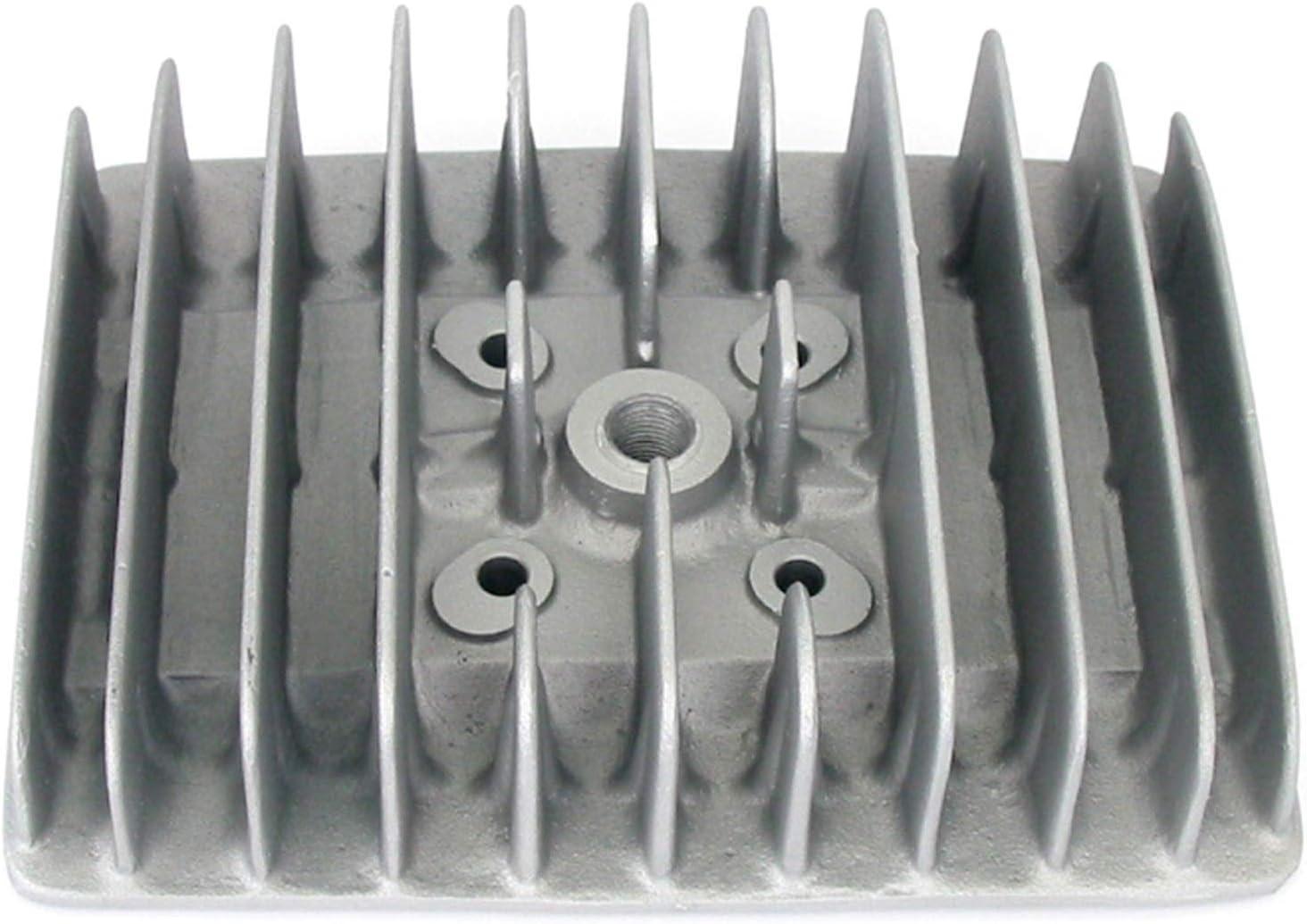 Zylinderkopf f/ür ATHENA Tuningzylinder Z/ÜNDAPP KS 50 und Mofas//Mokicks 70ccm 45 mm