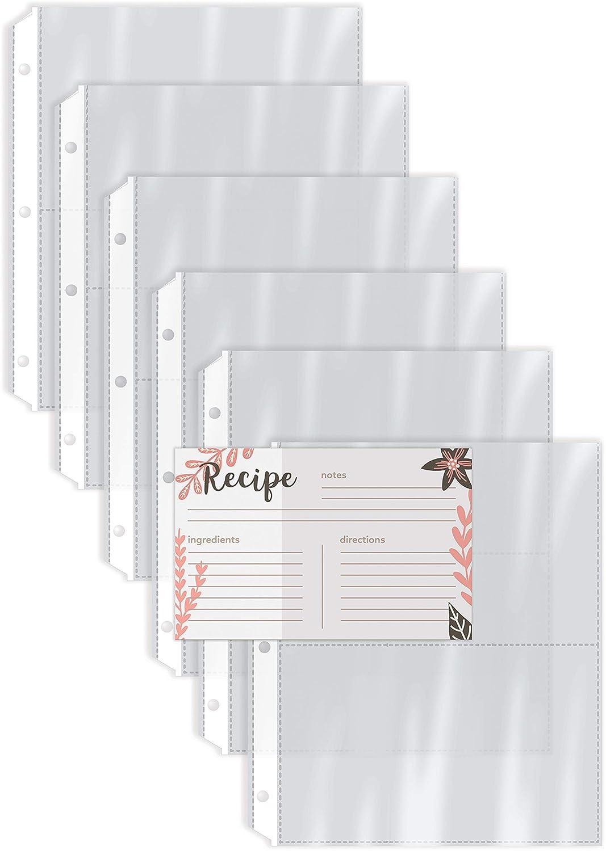 Refill Organizer Recipe Pocket