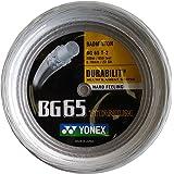 ヨネックス(YONEX) バドミントン ストリング 強チタン ロール200m 0.7mm ホワイト BG65T2