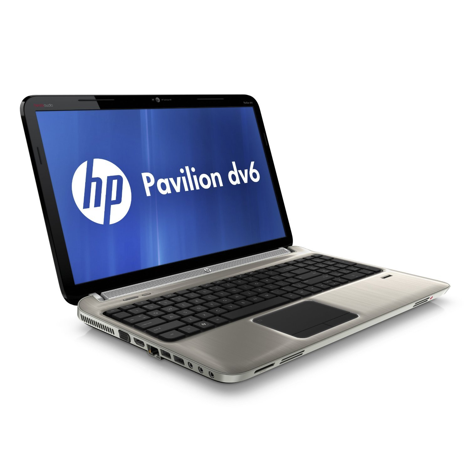 HP Pavilion dv6-6102sa Laptop PC (AMD Quad-Core A6-3410MX 1.6 GHz Up to 2.3  GHz in Boost Mode, RAM 4GB, HDD 750GB, Windows 7 Home Premium) - Steel  Grey: ...