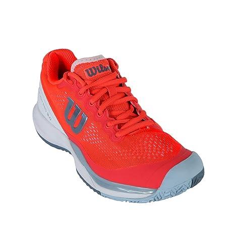 Wilson Rush Pro 3.0 W, Zapatilla de Tenis, para Todo Tipo de ...
