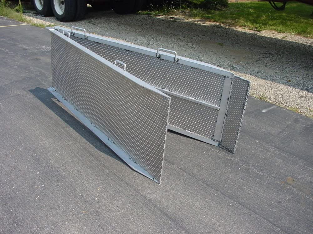 Handi-Ramp Portable Delivery Flatbed Truck Ramp 12ft x 24 w//Undercarriage Mounting Bracket 750lb Capacity