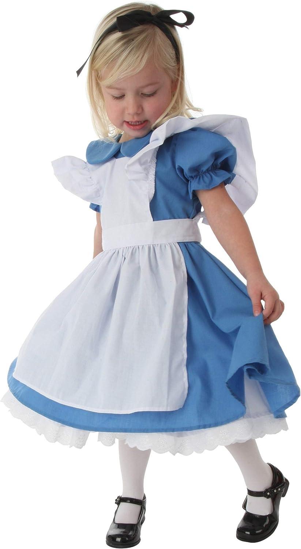 Baby Girl Princess  Alice in Wonderland Costume Halloween cosplay dress 2-6years