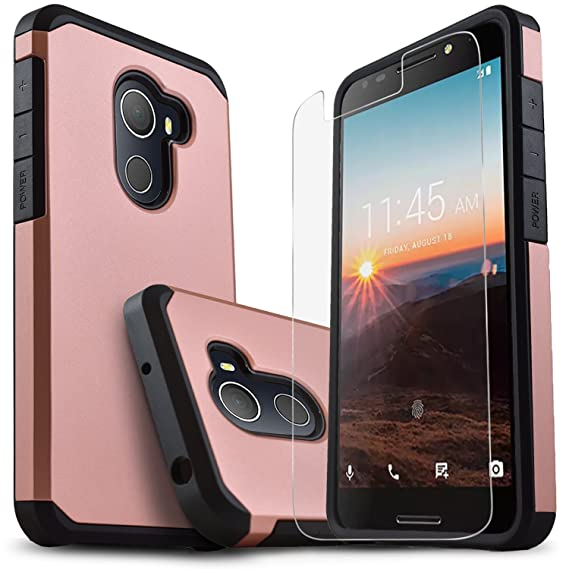 info for 129e4 c5358 T-Mobile REVVL Case [Not Fit Revvl Plus], Alcatel A30 Plus Case, Alcatel  A30 Fierce Case, Alcatel Walter Case, Starshop [Shock Absorption]Protective  ...