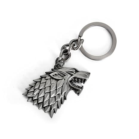 Game Of Thrones - Casa de metal llavero - Escudo Stark ...