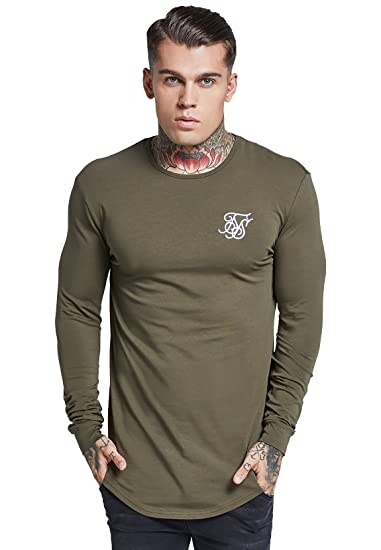 f9da2f0f3a9748 SikSilk Men Longsleeves Gym  Amazon.co.uk  Clothing
