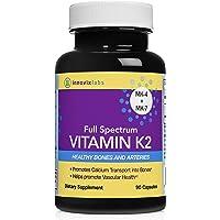 90-Count InnovixLabs Full Spectrum Vitamin K2 Capsules