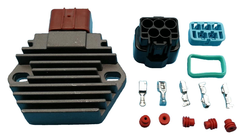 Tuzliufi Voltage Regulator Replace Honda TRX400 FW TRX350 TE TM FM FE VT750C Shadow Aero TRX450 TRX450R VT750C2 TRX400FW TRX450ES TRX450R TRX450S VT750 C2F VT750CA Xl650V Transalp Crf230L New Z54 Generic