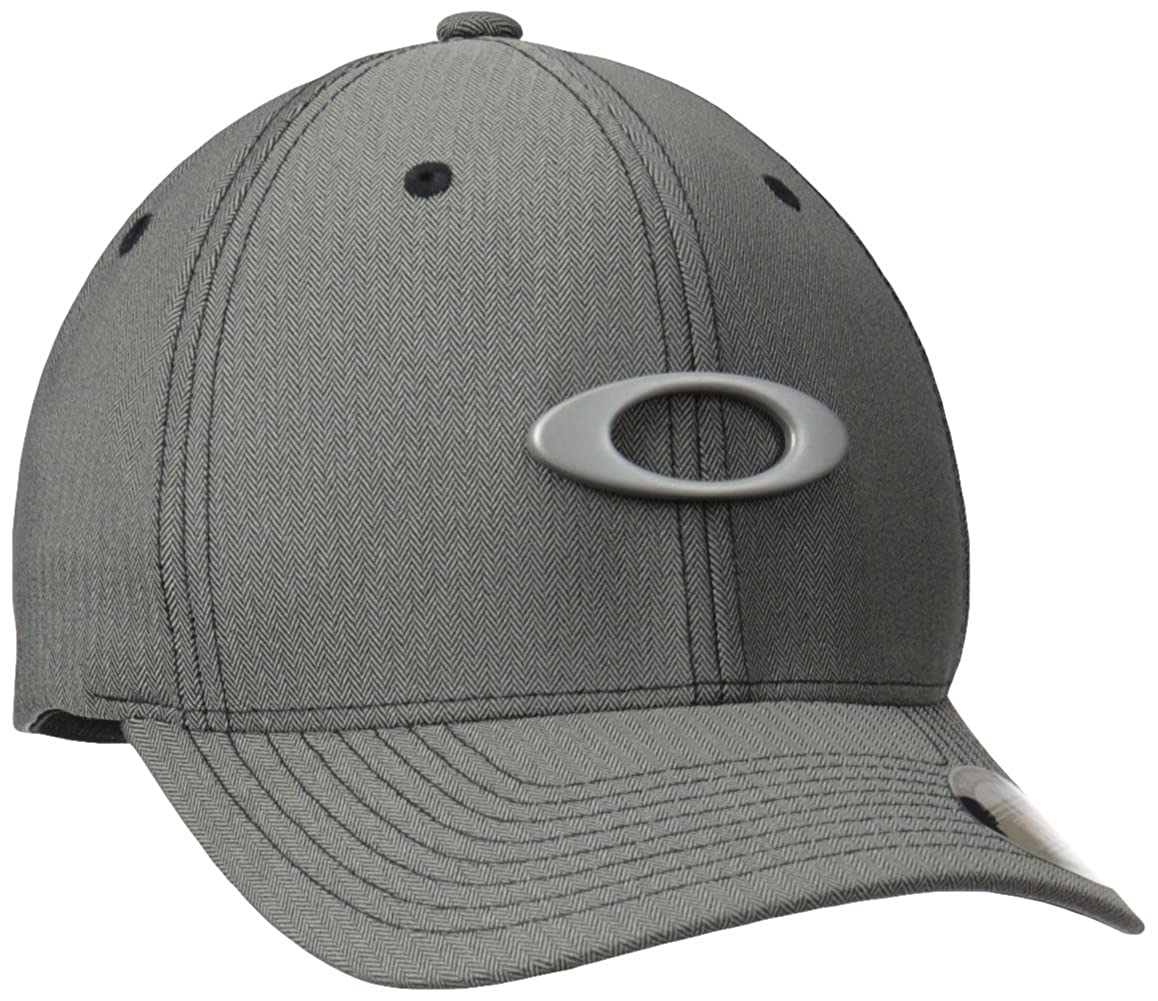 1e7cde36 Oakley Mens Flexfit Metal Gas Can Hat at Amazon Men's Clothing store: