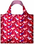 LOQI Reusable Tote Bag, Cats Print, Multi-Colored Print, International Carry-on