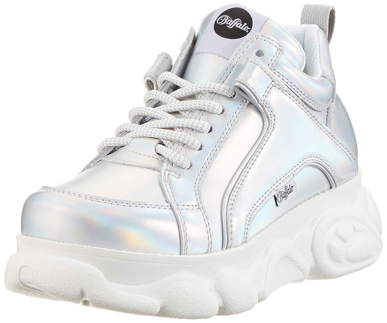 Grey (Silver 000) Buffalo Women's Corin Low-Top Sneakers