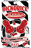 Dickorice The Worlds 1st Pecker Red Licorice Candy (3.5 Ounce Bag) - (1 Pack)