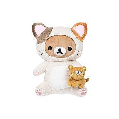 Rilakkuma San-X Rilakkuma Cat Playing With Kitty Plush: Toys & Games