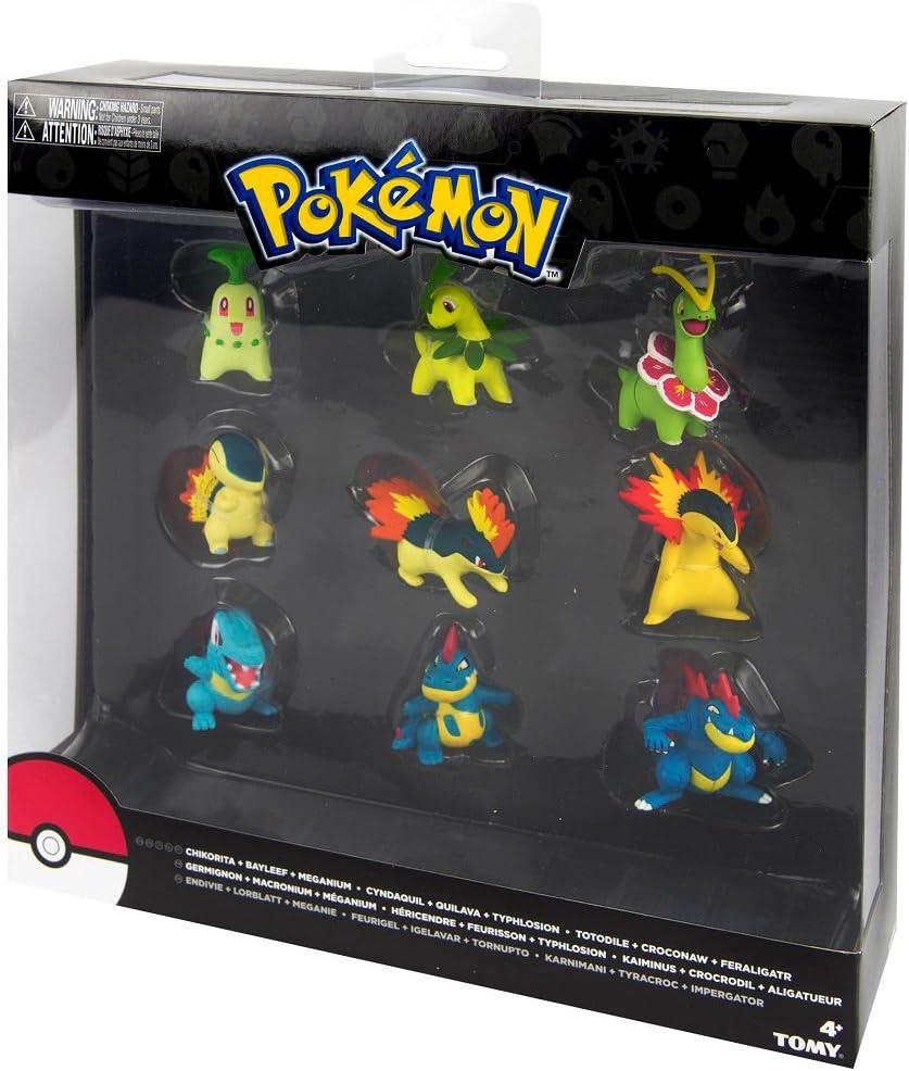 Bizak 30699050, Pokémon Evolución, Paquete de 9 Figuras, surtido ...