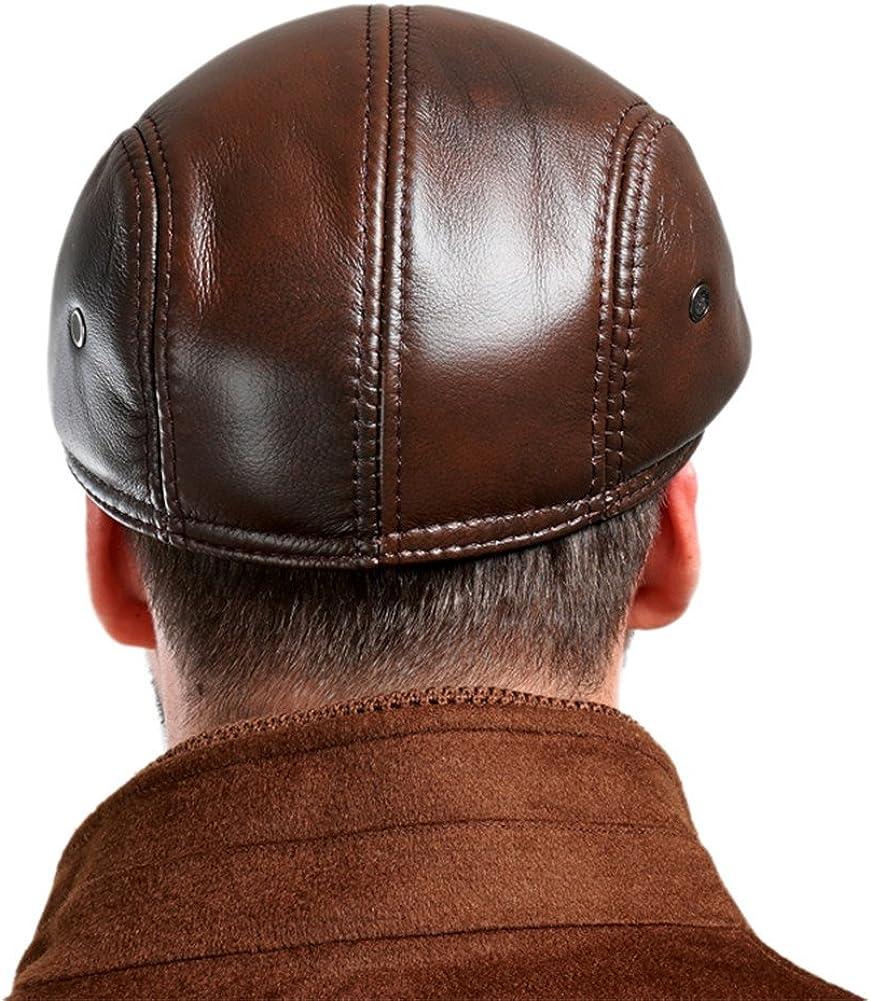 VEMOLLA Berretto da Uomo di Vacchetta Cappello per Uscite di Caccia Berretto per Cammionista Cappello Sportivo da Uomo