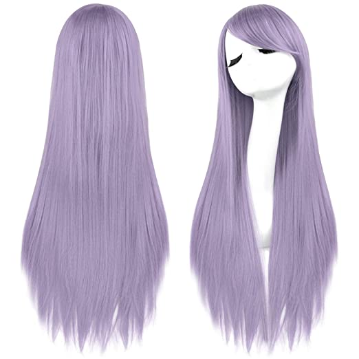 89b8f021d10 Rbenxia 32   Women s Cosplay Wig Hair Wig Long Straight Costume Party Full  Wigs Light