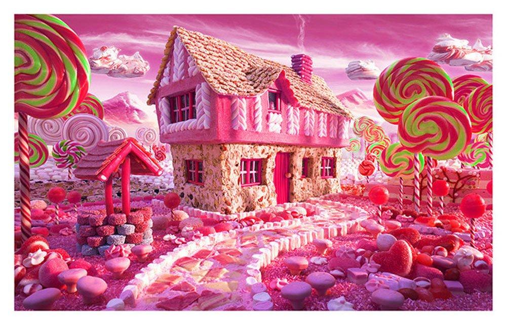 Taloyer DIY 5D Diamond Rhinestone Fairy Home Painting Cross Stitch Kit Mosaic Home Decor Crafts