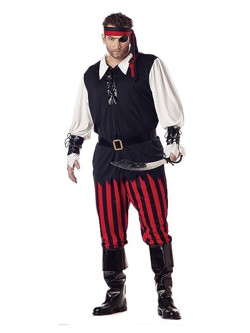 California Costumes 01611 - Disfraz De Pirata Cutthroat Para Los ...