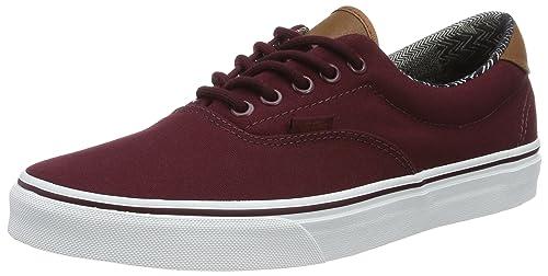 25c324bf51eb Vans Unisex Era 59 (C L) Port Port Royale Material Mix Skate Shoe 7