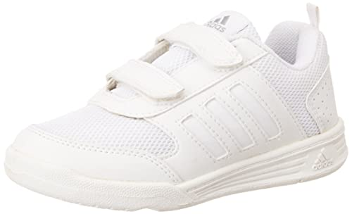67680dbe6a13a2 Adidas Boy s Flo School Lace White Formal Shoes - 6 UK India (39.33 ...