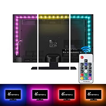 Amazoncom Vansky Tv Backlight Kit Bias Lighting For Tvled Strip