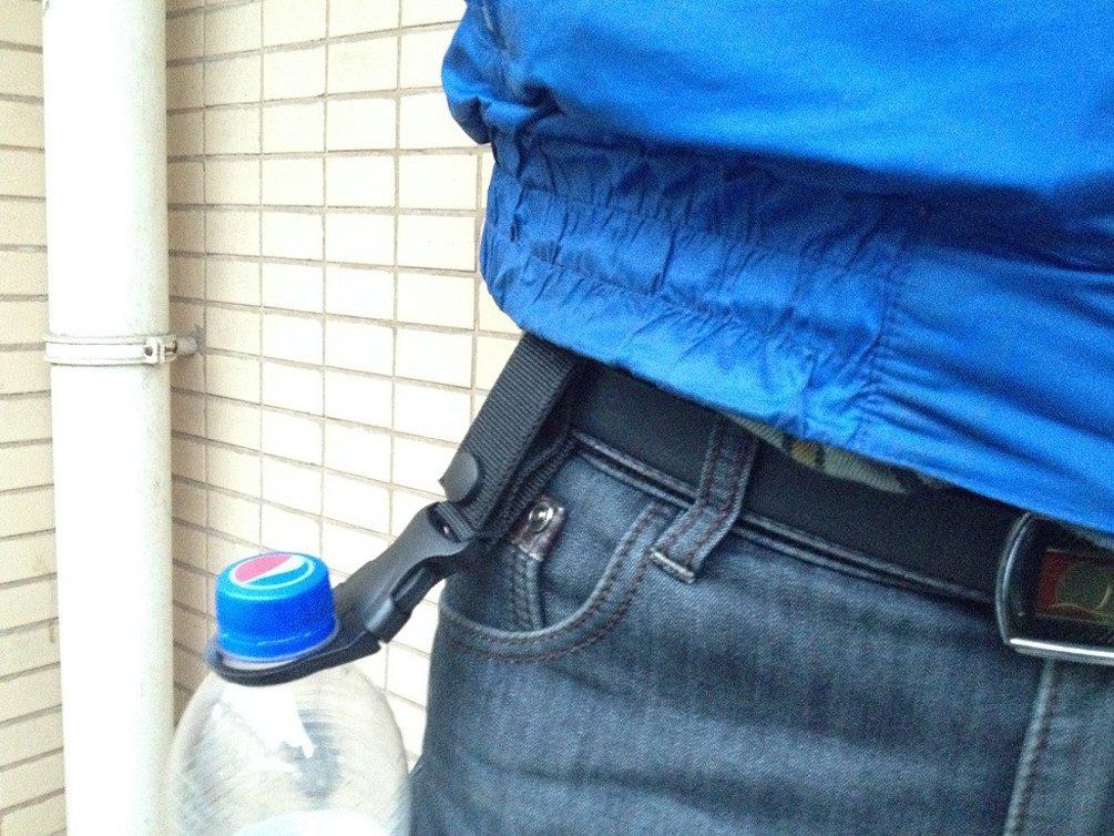 Ewandastore Tactical Mineral Water Bottle Buckle Clip//Hanging Strap Drink Bottle Buckle Hook Holder Clip for Camping Hiking Traveling