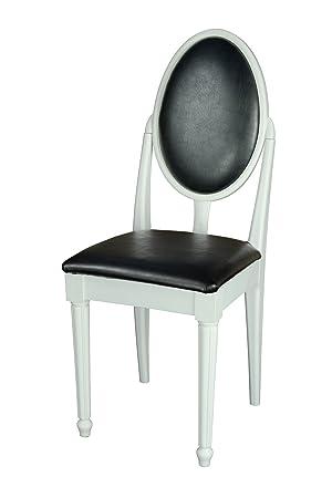 Design Street À Avec Coiffeusechambre Coucher Chaise High Blanc 2YDeWEHb9I
