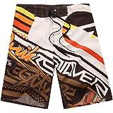 Baymate Men'S Swimming Shorts Print Trunks Surf Boardshorts Beach Shorts
