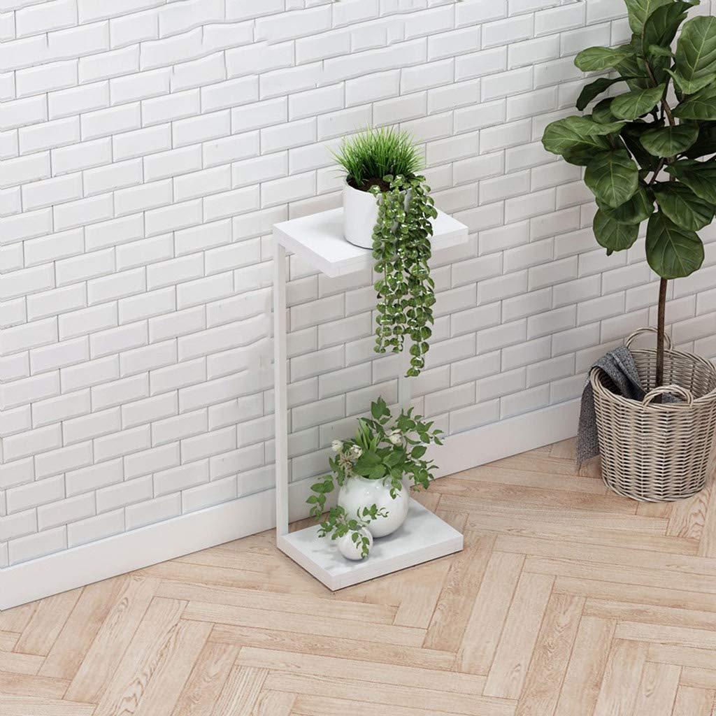 HLJ Home Soggiorno Multi-Strato Flower Stand Elegante Minimalista Flower Stand Balcone Flower Pot Rack Indoor Flower Stand (Dimensione   M 35  24  80cm)