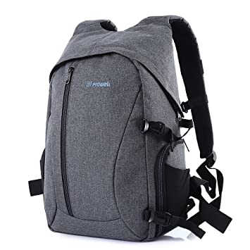 DC21439 DSLR Camera Photography Backpack Mochilas Multiusos Básicas (Gris): Amazon.es: Electrónica